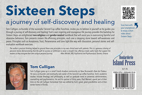 website Back Cover Sixteen Steps